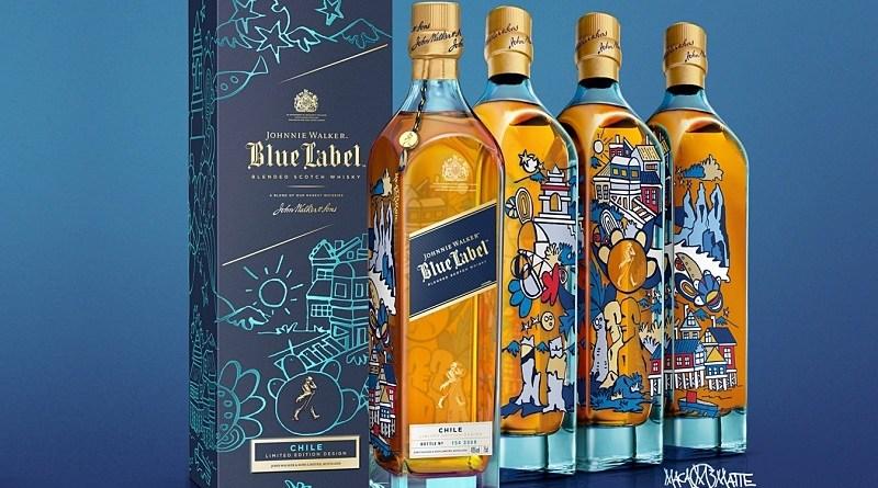 El whisky escocés Johnnie Walker decidió homenajear la inigualable riqueza natural y cultural de Chile. Y lo hizo transformando su icónico Blue Label en una exclusiva obra de arte, creada por la artista visual Macarena Matte.