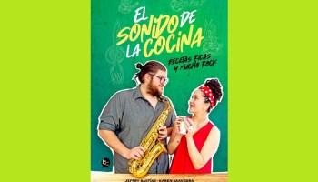 Los ex participantes de Master Chef Chile, Karen Saavedra y Jeffry Bastías, acaban de publicar su primer libro de cocina donde combinaron canciones y comida.