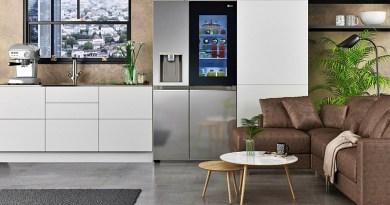 En la primera feria CES virtual, LG Electronics presenta su nueva línea de refrigeradores InstaView Door-in-Door.