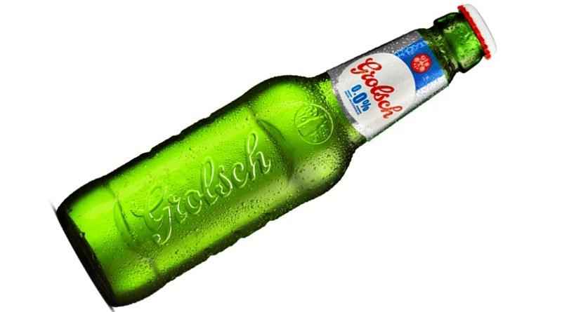 La cerveza holandesa Grolsch, considerada como una de las más antiguas del mundo, lanzó al mercado chileno una variedad 0,0% de alcohol