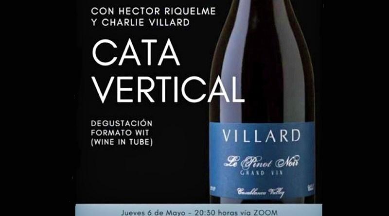Cada jueves por medio se realizará una degustación del Ciclo de Catas Verticales Online de viña Villard, dirigidas por el sommelier Héctor Riquelme y Charlie Villard.