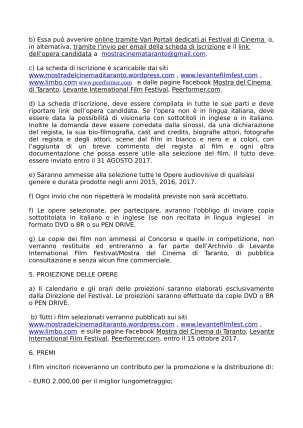 REGOLAMENTO MCT 2017-2
