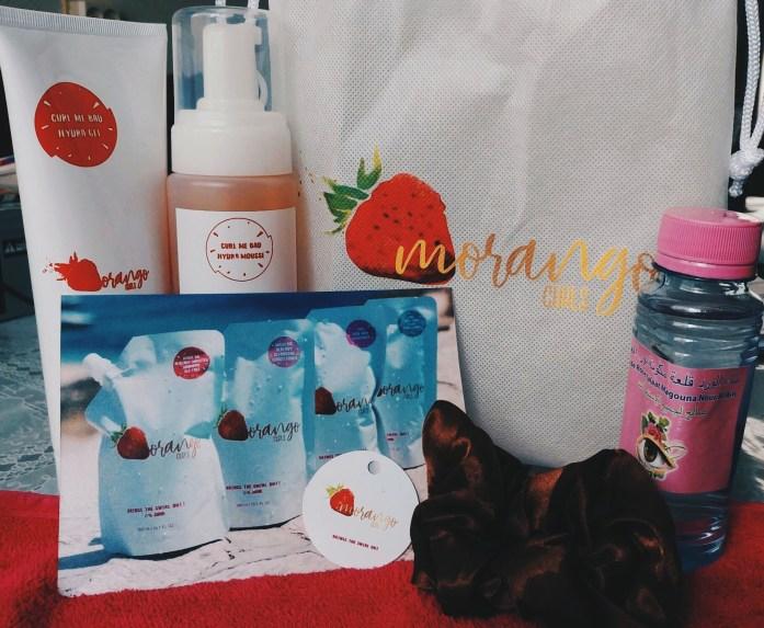 morango curls products
