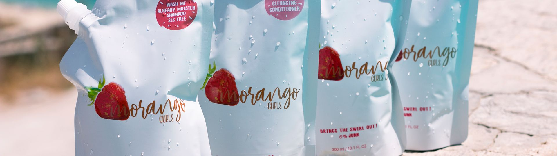 morango curls product line