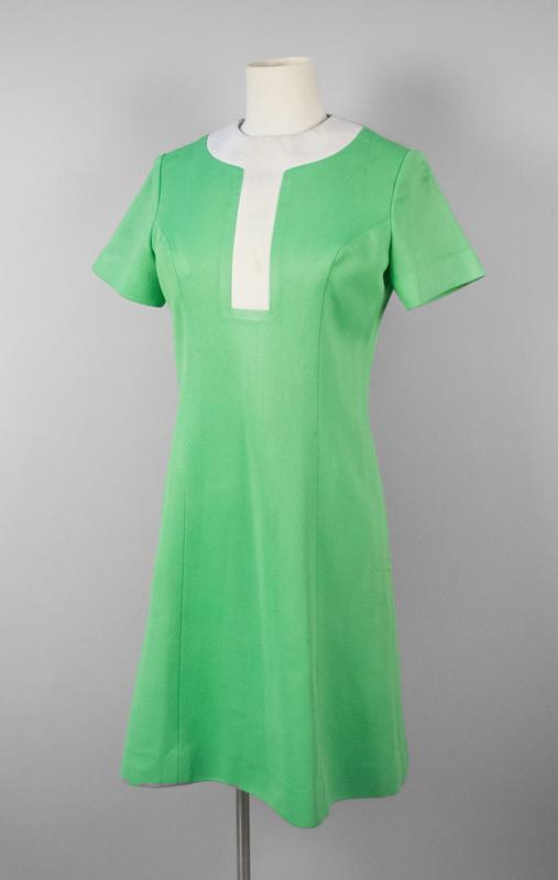 Green Uniform Dress NAC Stewardess