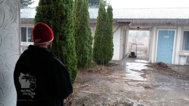 motel possible rain day