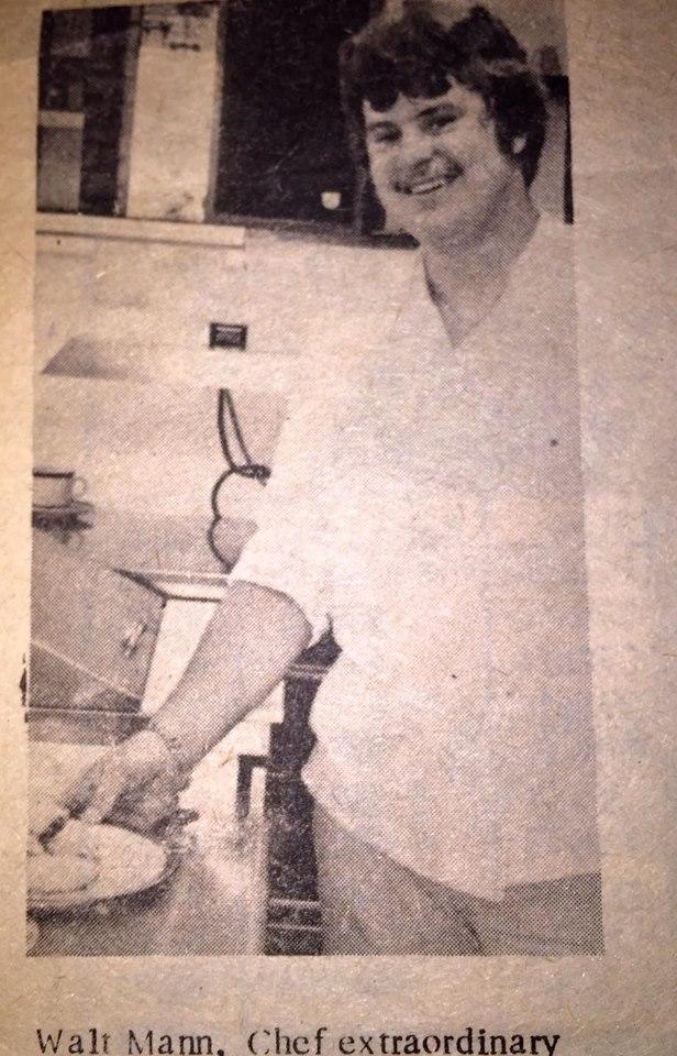 Walt Mann, chef at original Bavarian Inn Restaurant in Atwood