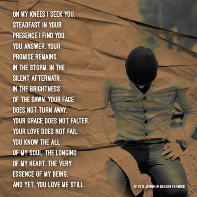 On My Knees I Seek You