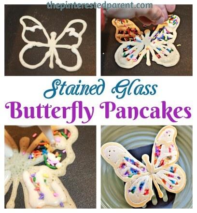 fun kids food, pancake ideas