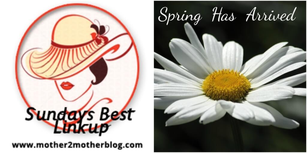 Sunday's Best, blog hops, linky parties Spring
