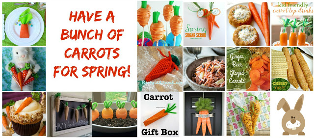kids activities, carrot activities, spring crafts