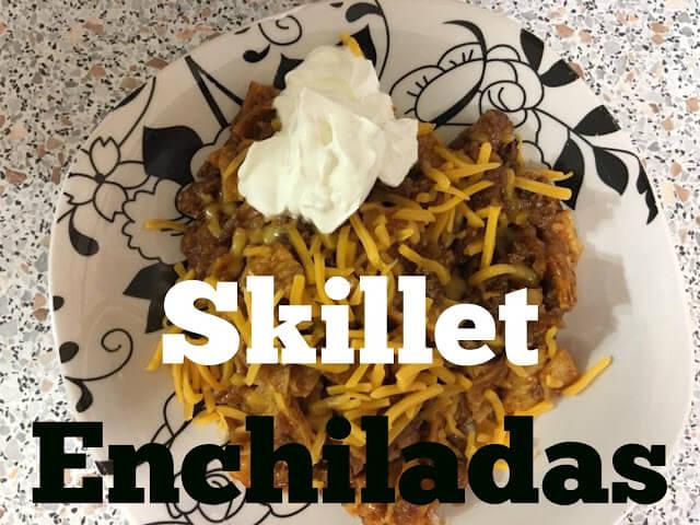skillet recipes, recipes, enchilada recipes