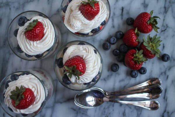 patriotic desserts, no bake cheesecake recipes, cheesecake recipes, 4th of July ideas