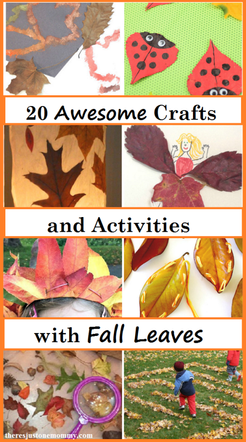 crafts that use fall leaves