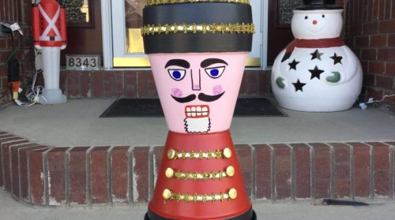 Week 156 Sunday's Best - Terra Cotta Nutcracker Soldier from Chas' Crazy Creations