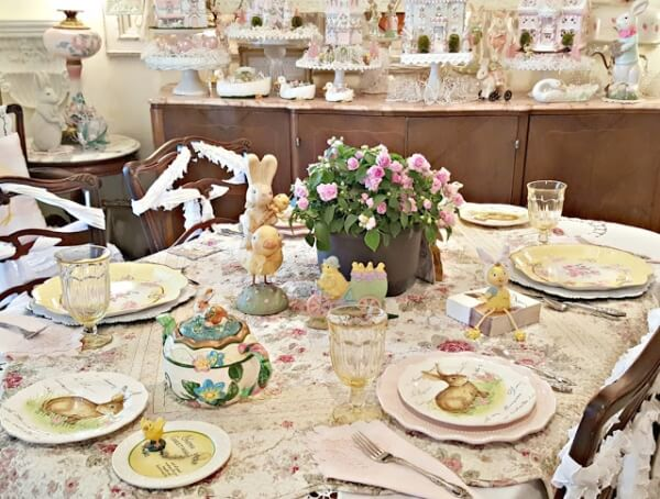Easter Tablescapes