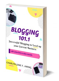 Blogging 101point1 ebook cover