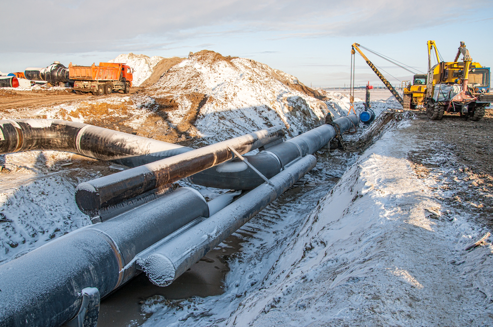 Pipeline construction. Photo: Sergey R