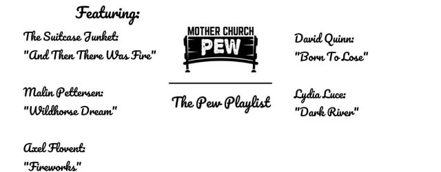 Mother Church Pew Americana Playlist September 19, 2020