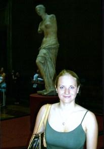 Me with the Venus de Milo