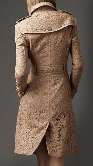 Burberry Lace Coat