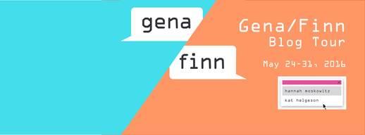 Gena Finn blog tour banner