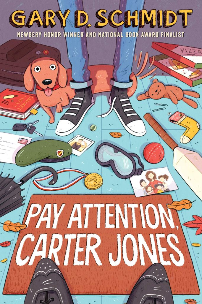 Pay Attention Carter Jones cover image