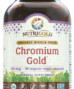 NutriGold Chromium Gold - 200 mcg