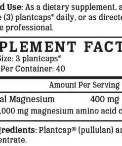 NutriGold Magnesium Gold - 400 mg / serving