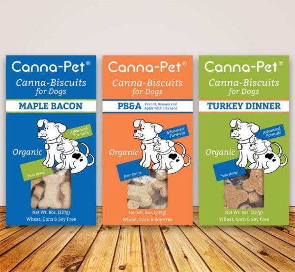 CannaPet - Organic Hemp CBD Treats for Dogs **Great for on the go**