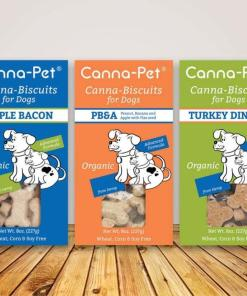 CannaPet - Organic Hemp CBD Treats for Dogs **Great for on the go**