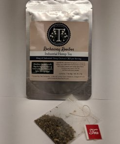 Tranquility Tea Company - Rockaway Rooibos - 50mg CBD each. CBD tea near me.