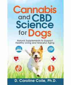 Cannabis for dogs. Natural supplements to support healthy living and graceful aging