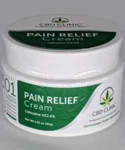 CBD CLINIC™ Level 1 Clinical Strength - Mild Unscented with Lidocaine - Revolutionary Pain Relief for arthritis, joint pain, muscle pain, doctor recommended
