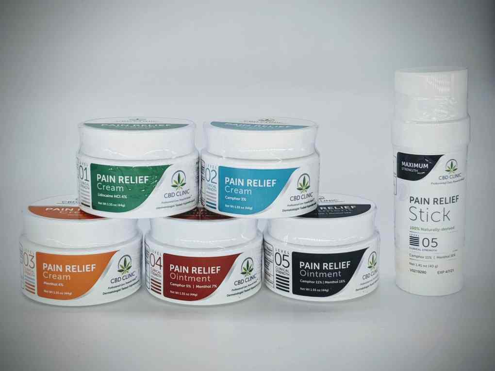 CBD Clinic Professional Series Revolutionary Pain Relief