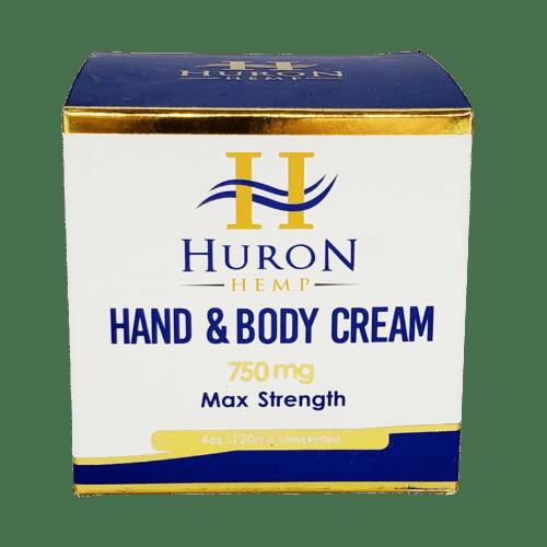 Huron Hemp Hand and Body Cream