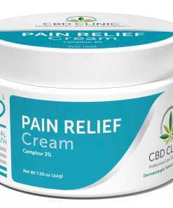 CBD Clinic Level 2 Clinical Strength - Mild Moderate with 3% Menthol - Revolutionary Pain Relief for arthritis, joint pain, muscle pain, doctor recommended