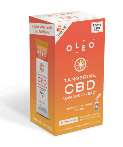 Oleo Tangerine CBD Rooibos Tea Mix – Multipack Box (6 Packets)