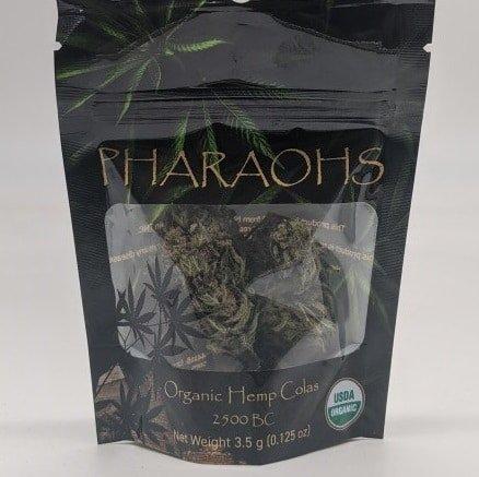 Pharaohs Organic Hemp Colas 7g