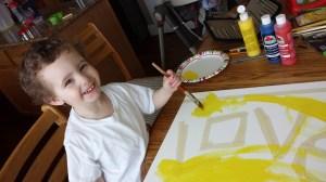 Painting with Kids - Motherhood and Beyond