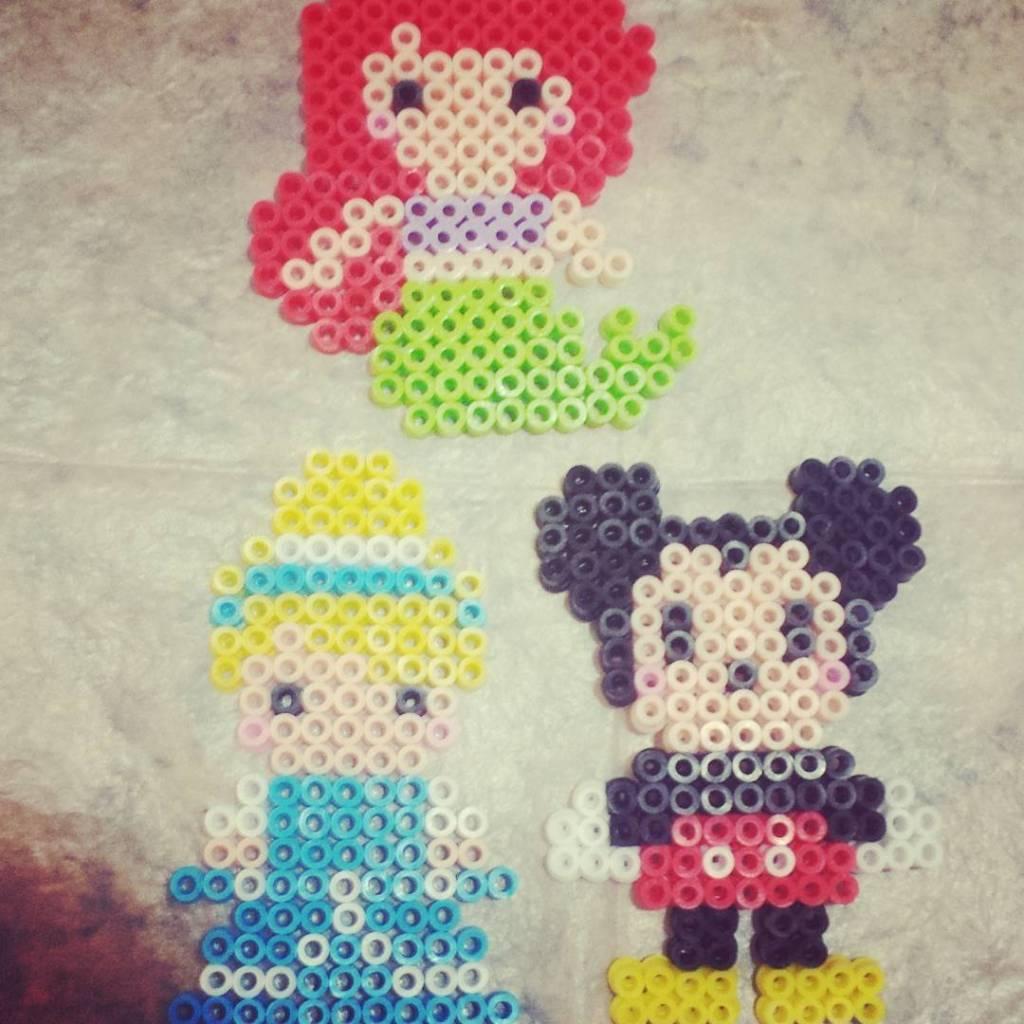 Disney beads! craft kidscrafts crafty disney