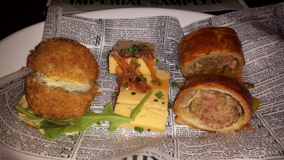Food Sampling - Rose & Crown Pub & Dining Room - Epcot