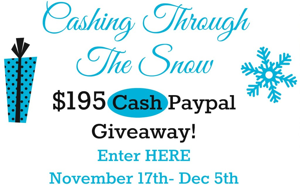 Cashing Through The Snow – A Cool Winter Giveaway