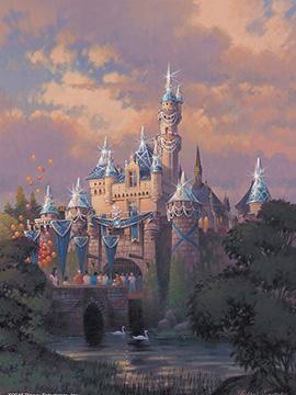 Sleeping Beauty Castle Disneyland Diamond Celebration