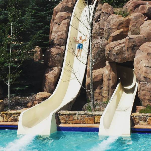 Water Slides at The Broadmoor