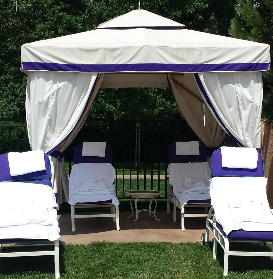 Poolside Cabanas at The Broadmoor