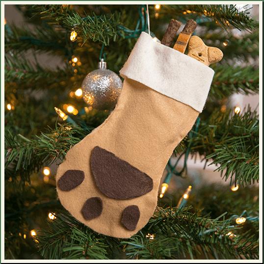 Happy Howlidays - Treat Stuffed Stocking