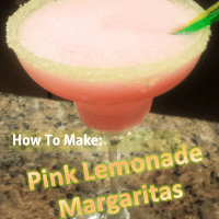 How To Make: Pink Lemonade Margaritas