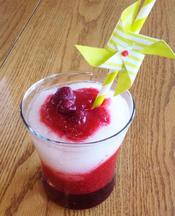 Raspberry Moscato Slush