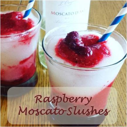 Raspberry Moscato Slushes.1